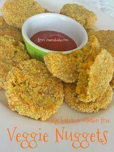 Big Batch Veggie Nuggets | mamabake.com