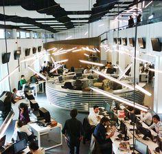 Newsroom in Lisbon