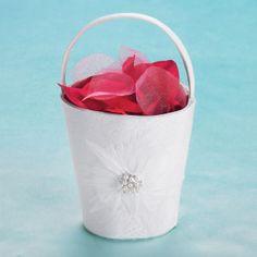 Brides® Feather Flower Basket