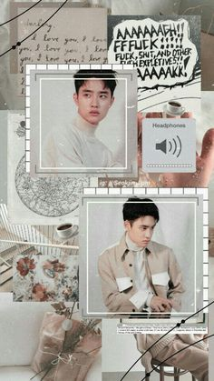 ♡ Exo Do Kyungsoo D.o aesthetic wallpaper Kyungsoo, Chanyeol, Kaisoo, Aesthetic Pastel Wallpaper, Aesthetic Wallpapers, Picsart, K Pop, Words Wallpaper, Exo Lockscreen