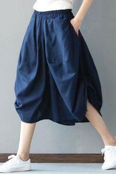 Casual Bloomers Pants P8903