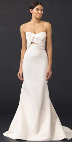 J. Mendel Adelaide Strapless Bustier Gown   SHOPBOP