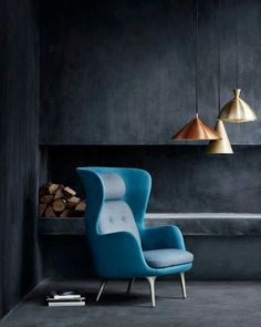 Wherever you put this chair it's sure to be a conversation starter. Ro: An Easy Chair by Jaime Hayon for Fritz Hansen - Design Milk Fritz Hansen, Decoration Inspiration, Interior Inspiration, Design Inspiration, Decor Ideas, Design Furniture, Chair Design, Milan Furniture, Sofa Furniture