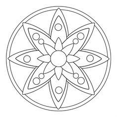 Blütenmandala - Google-Suche