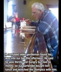 Touching photo