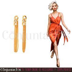 Pendientes Chains ★ 11'95 € en https://www.conjuntados.com/es/pendientes-dorados-chains.html ★ #novedades #pendientes #earrings #conjuntados #conjuntada #joyitas #lowcost #jewelry #bisutería #bijoux #accesorios #complementos #moda #eventos #bodas #invitadaperfecta #perfectguest #party #fashion #fashionadicct #fashionblogger #blogger #picoftheday #outfit #estilo #style #streetstyle #GustosParaTodas #ParaTodosLosGustos