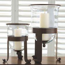Simple Grande Hurricane Candle Holder