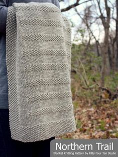 71ecb5633d97a Blanket KNITTING PATTERN   Northern Trail   Baby   Throw   Afghan   Knit    Gift   Wedding   Quick   Easy   PDF Instant Download. Knitting TermsBeginner  ...