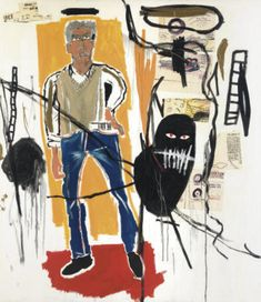 Jean Michel Basquiat, Jm Basquiat, Dachshund, Basquiat Paintings, Neo Expressionism, Life Paint, Andy Warhol, American Artists, Black Art