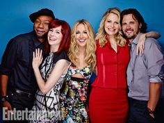 Nelsan Ellis, Carrie Preston, Anna Camp, Kristin Bauer van Straten, and Nathan Parsons, True Blood. See more stunning star portraits from our photo studio at San Diego Comic-Con 2014 here: http://www.ew.com/ew/gallery/0,,20399642_20837151,00.html