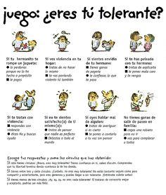 Tolerancia para niños