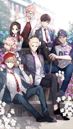 Marked by King Bs_jeu android iOS Boys Anime, Anime Siblings, Cute Anime Guys, Manga Anime, Anime Art, Anime Love Couple, I Love Anime, Cute Anime Coupes, Style Anime