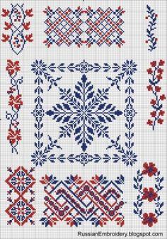 Simple crosses (scheme) / Embroidery / Cross Stitch