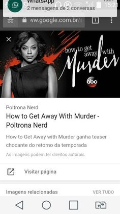 How To Get Away, Teaser, Nova, Messages