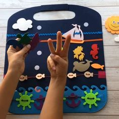 Travels with our Pikabooks and Playmats are so much easier for an entire family 🤗 This Playmat can entertain your Little one during car/plane/train. Fine Motor Skills Development, Baby Development, Toddler Learning Activities, Infant Activities, Diy For Kids, Crafts For Kids, Kids Fun, Preschool Activities, Health Activities
