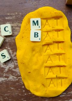Stamp and Spell Literacy Play