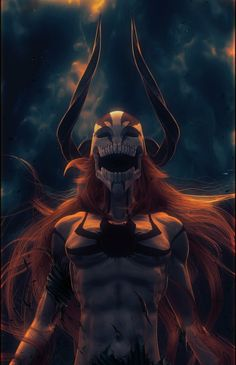 Ichigo Full Hollow Form #Bleach