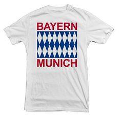FC Bayern Munich Basic Logo Tee Four11 Designs