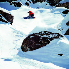 Go find your own snow park. http://quiksilver.com/snow Rider: Bryan Fox