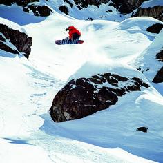 Go find your own snow park. http://quiksilver.com/snow Rider: Bryan Fox