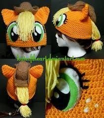 my little pony crochet hat pattern free - Google Search