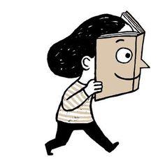 Cada lector se refleja en sus lecturas (ilustración de Marta Altés)