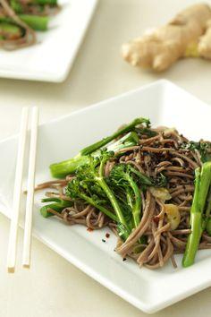 Broccolini & Buckwheat Noodles