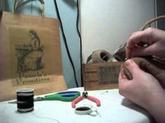 Primitive Dolls: Putting on Eyes Part 2