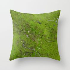 Moss Throw Pillow