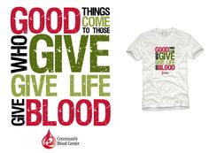Give life give blood. Register at http://www.prouddonor.com/donate-blood/