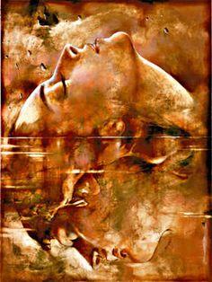 Dawn and Dusk Painting Yarek Godfrey Artist Artwork Serigraph