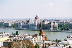 Hungary- The Danube River divides the city of Buda and Pest= Budapest