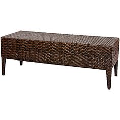 PE Wicker Outdoor Bench  sc 1 st  Pinterest & outdoor furniture | ... Rattan Storage Box Outdoor Storage Bench ...