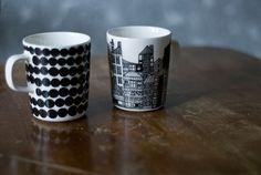 New Marimekko Mugs Marimekko, Tea Time, Tea Cups, Mugs, Tableware, Gifts, Kitchen, House, Dinnerware