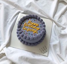Pretty Cakes, Cute Cakes, Beautiful Cakes, Amazing Cakes, Cake Cookies, Cupcake Cakes, Delish Cakes, Korean Cake, Cute Desserts