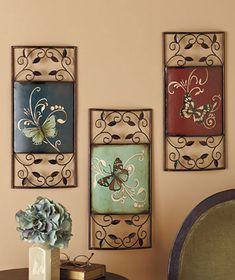 Flight Of The Butterfly Metal Wall Art Decor | Home Decor | Pinterest |  Metal Wall Art Decor, Metal Wall Art And Art Decor