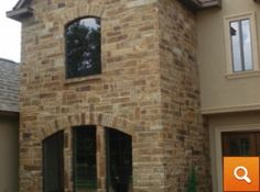 Choctaw Tan Chopped Earth Tones, Exterior, Stone, Decor, Rock, Decoration, Stones, Outdoor Rooms, Decorating