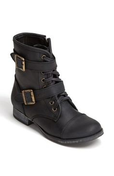 Lusting over boots once again. DV by Dolce Vita 'Sandie' Boot (Nordstrom Exclusive) available at Moto Combat, Over Boots, Side Zip Boots, Short Boots, Ankle Booties, High Top Sneakers, Autumn Fashion, Nordstrom, My Style