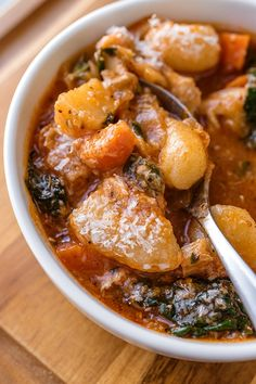Hearty Italian Chicken and Autumn Veggie Soup