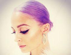 Nicole Richie dyed her hair purple!