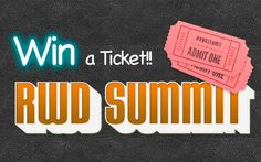 Win a ticket for RWD Summit, the responsive web design online conference (worth $179!)