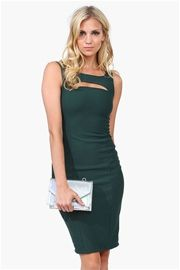 One Night Cocktail Dress in Green