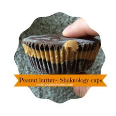 shakeology  recipes  healthy reeses cups  peanut butter recipes  shakeology desserts  21 day fix  coach  beachbody coach  clean eating  21 day fix meal plan