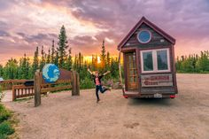 The Tiny House Big Journey of Jenna Spesard and Guillaume Dutilh.