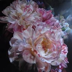 """Saatchi Art Artist Marcella Kaspar; Painting, """"Reach for the Light_Light and Shade_Catherine Asquith Gallery Melbourne SOLD 4th-22nd Aug 2009"""" #art"""