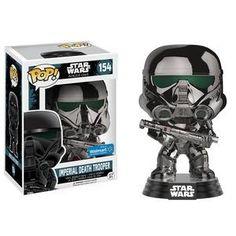 Imperial Death Trooper (Chrome Metallic) Pop Vinyl Pop Star Wars | Pop Price Guide