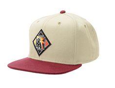 Want Khaki Snapback Cap by THE HUNDREDS