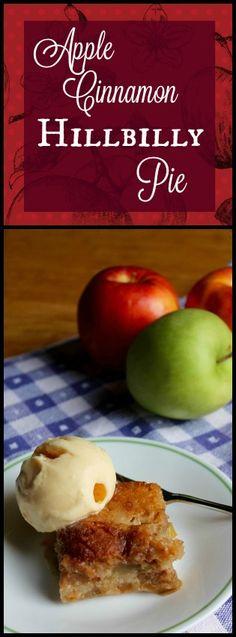 Apple Cinnamon Hillbilly Pie - Prairie Gal Cookin