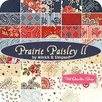 Prairie Paisley II Jelly Roll  Polly Minick and Laurie Simpson for Moda Fabrics for Moda Fabrics ... ooohhhh....