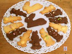Biscotti coniglietti di Pasqua